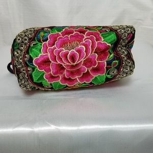 Handbags - Boho Clutch Embroidered wristlet